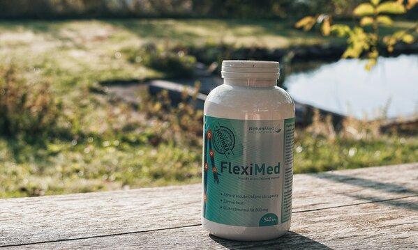 FlexiMed obsahuje vše, co Váš pohybový aparát potřebuje. Proč ho vyzkoušet?