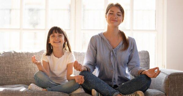 Dechová cvičení pro děti pomůžou s hyperaktivitou. Jak na ně?