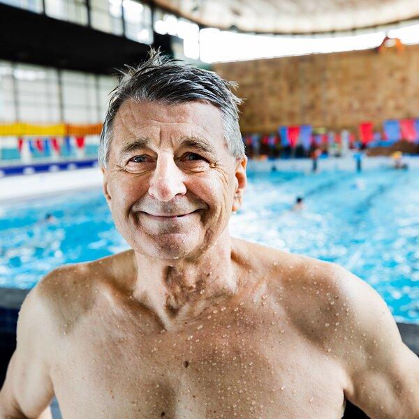 Rudolf Šmerda, Mistr světa v plavání